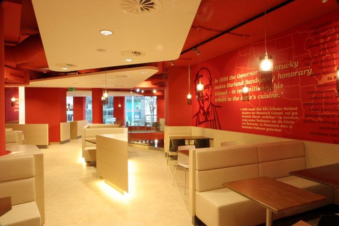 Wandtexte für KFC
