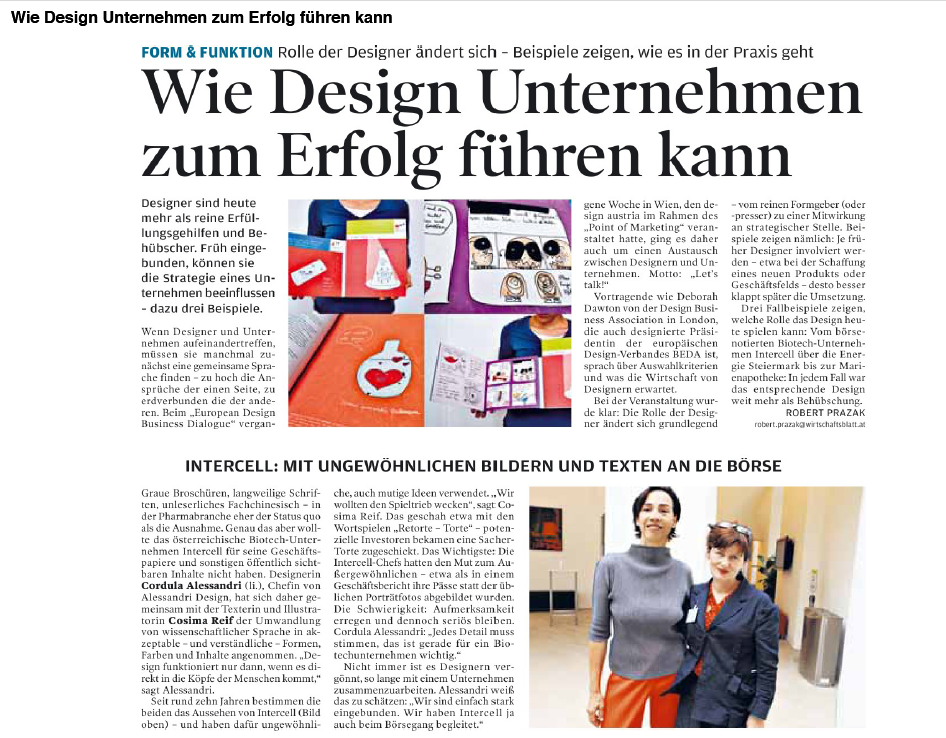Der Design Austria Business Dialog…