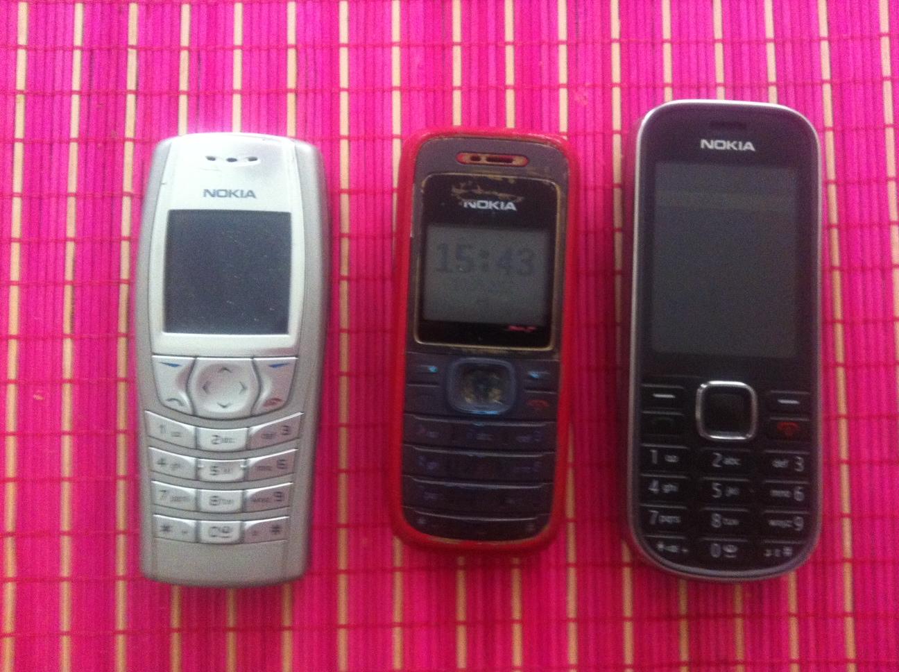 Der Blog für die Dame:  Jetzt Vintage-Handys tragen!