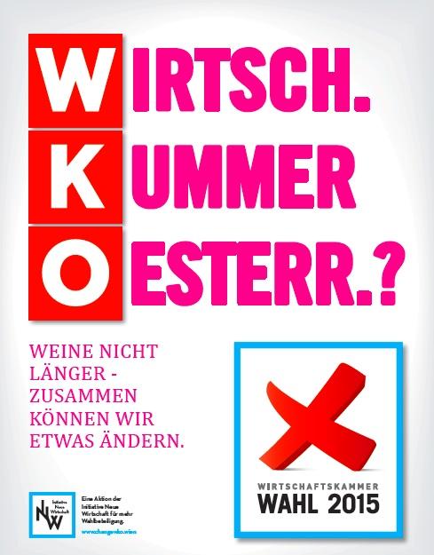 Kampagne für die WKO Wahl 2015