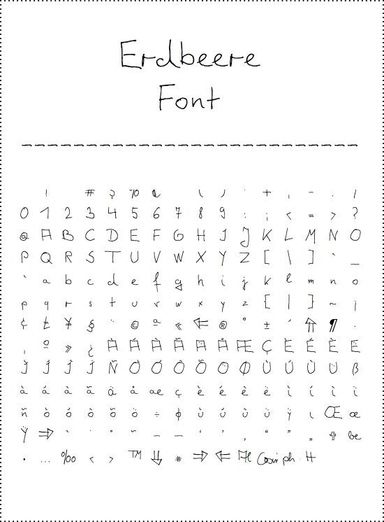 erdbeere-font-web