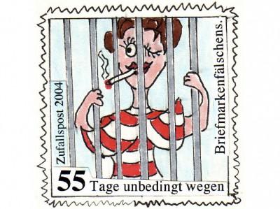 Die Zufallspost / Briefmarken