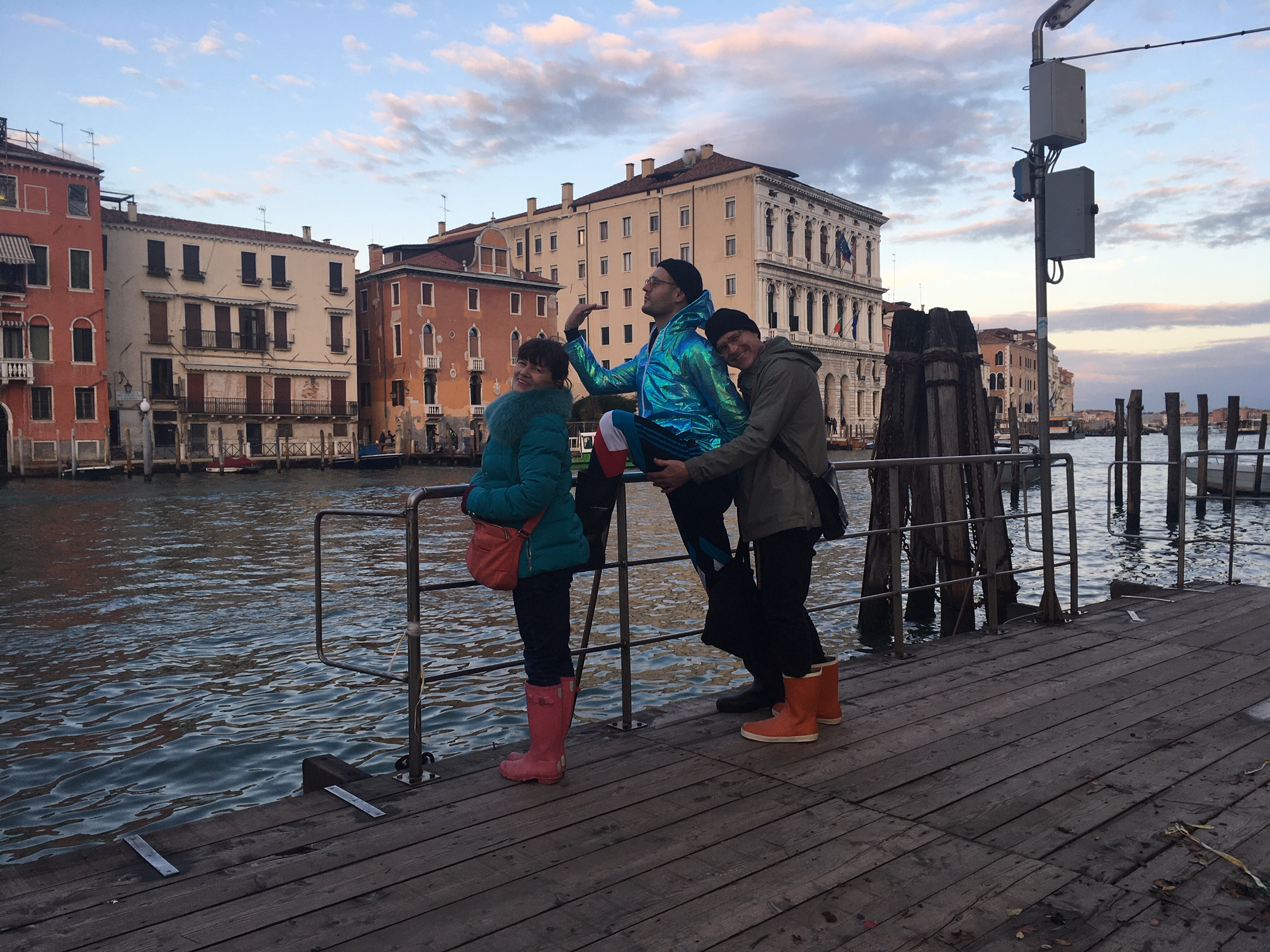 Mein Geburtstag in Venedig.