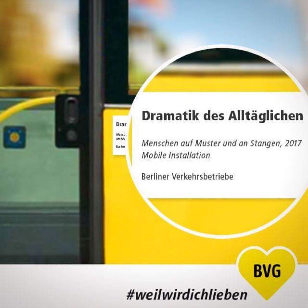 Glückwunsch, BVG.
